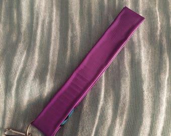 Purple Duct Tape Key Chain