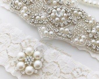 wedding garter, wedding garter set, wedding garter lace, wedding garter belt, wedding garter set ivory, bridal garter, bridal garter belt