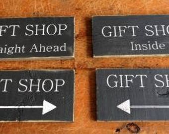 Gift Shop Sign|Custom Business Sign|Retail Sign|Business Sign|Custom Sign|GIft Store