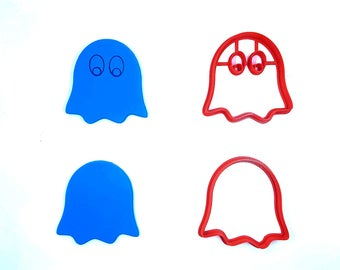 Ghost Cookie Cutter - 3D Printed - Ghostly Cookie Cutter - Clay Cutter - Fondant Cutter - Halloween Cookie Cutter - FunOrders