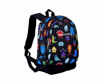 Personalized Classic Monsters Backpack