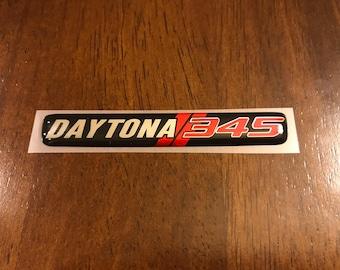 Charger Daytona 345 steering wheel badge