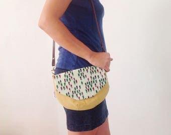 Bag with lapel, handbag