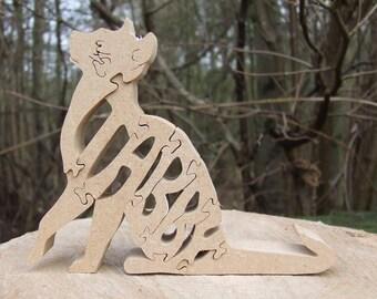 Tabby cat, Tabby cat ornament, Wooden Tabby cat, Tabby cat sculpture, Tabby cat gift, unique Tabby cat, unique cat gift, gift for cat lover