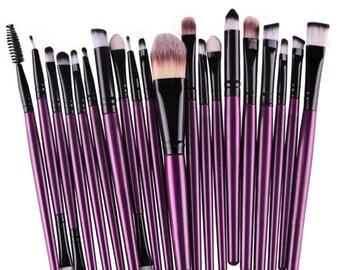 Eye/lip makeup brushes 20 pc.