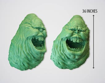Ghostbuster Wall Slimer Decor