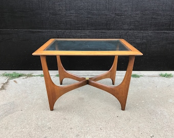 Mid Century Lane Side Table