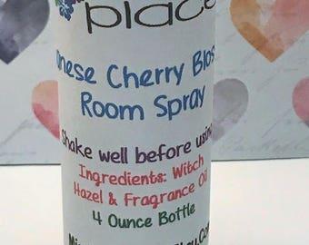 Japanese Cherry Blossom Room Spray, House Spray, Linen Spray, Home Fragrance, Room Mist, Home Spray, Room Deodorizer, Yoga Mat Spray