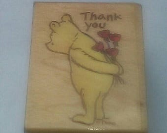 Pooh Thank You Stamp