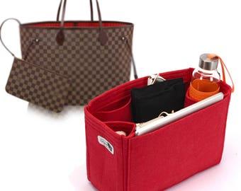 Bag and Purse Organizer for Louis Vuitton Bags, Felt Purse Organizer, bag insert, Bag Organizer for Louis Vuitton (Express Shipping)
