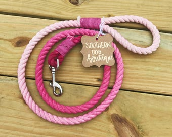 4 ft Flamingo Pink Leash