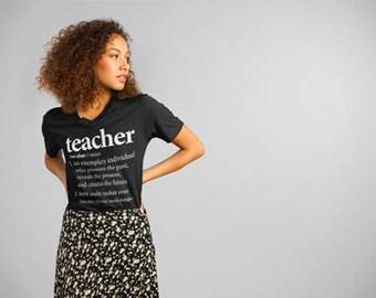 Teacher Shirt | First Day of School T-Shirt for Teachers | Teacher Appreciation Gift for Teacher | Teacher Week Present for Teacher