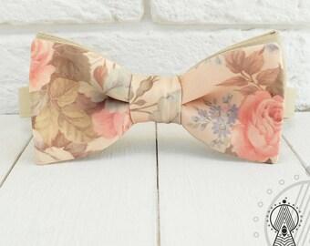 Bohemian flowers Bow tie, Boho-chic, Roses, Bohemian wedding