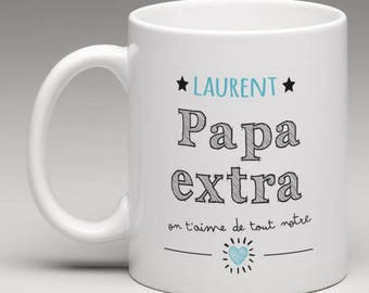 Personalized gift for an extra dad mug