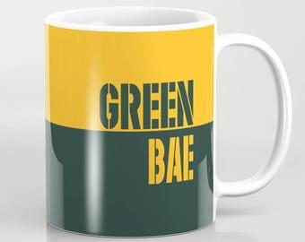 Green Bae - 11 oz or 15 oz Ceramic Mug