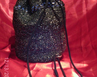 "HANDBAG ""Baluchon Marino"", Collection K7 black"