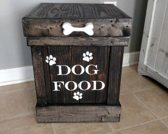 Dog Food Storage Bin, Dog Food Storage Container, Pet Food Bin, Pet Storage