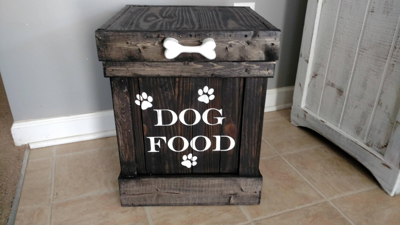 Etsy Dog Food Storage