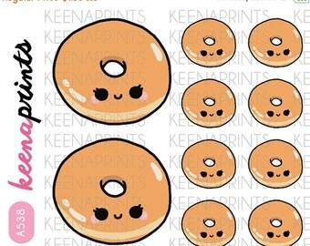 20% OFF A538 | ORIGINAL Glaze Doughnut    StickersDaily Planner Stickers, Diary Stickers, Journal Stickers, Scrapbook stickers