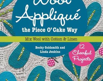 Wool Applique A PIECE OF CAKE