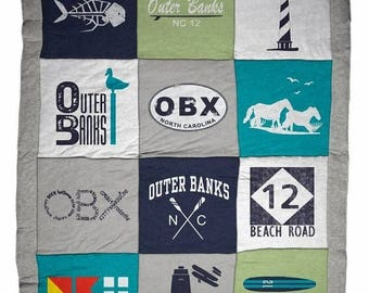 ON SALE Outer Banks OBX Classic Destination Blanket