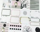 Wandering - set of 32 stickers perfect for Erin Condren Life Planner, Kikki K, Happy Planner or Filofax Planner