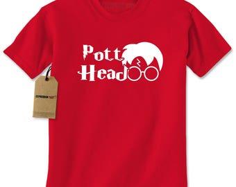 Pott Head Harry Mens T-shirt