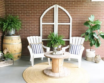 Small Dual Arched Window Set