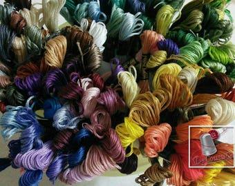 25 Embroidery, thread, SURPRISE, DMC, Mouliné 25, art 117 No. 25, 8 meters each skein, cotton. DEAL