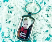 Photo Keychain, Kids Key Chain, Custom Key Chain, Gift For Him, Personalized Keychain, Custom Picture Keychain, Custom Photo Keychain
