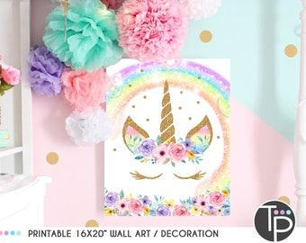 Unicorn bedroom | Etsy
