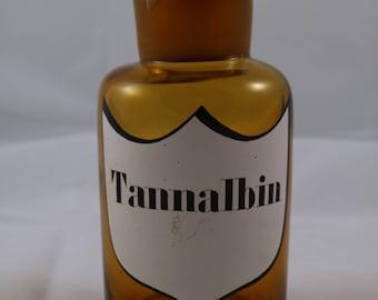 brown pharmacy bottle