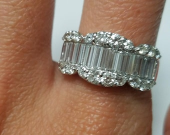 14KW Diamond Band, Wedding Band