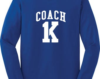 Coach K Long-Sleeved Shirt