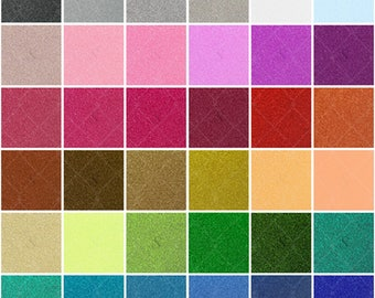 Siser Glitter 20 in x 3 ft Roll Heat Transfer Material  - 31 Colors Available