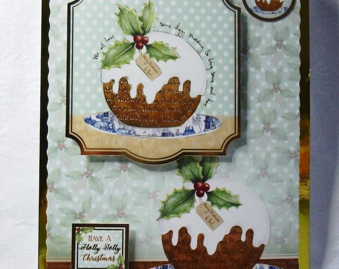 Figgy Pudding Card, Christmas Pudding Card, Christmas Card, Greeting Card, Male or Female, Any Age,