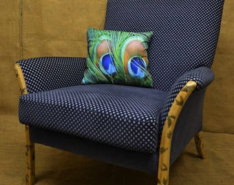 Parker Knoll Mid Century Armchair with Laquerre Boutique Legs