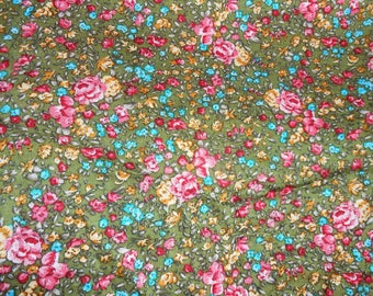 cotton fabric with green very pretty