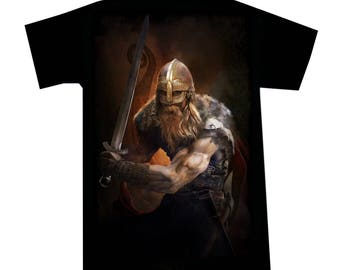 T shirt Viking Warrior