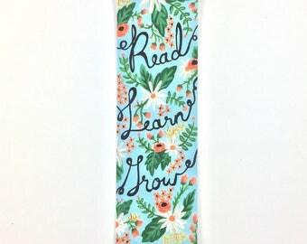 Bookmark - Read, Learn, Grow