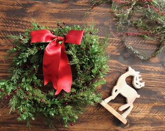 Holiday and Christmas wreaths