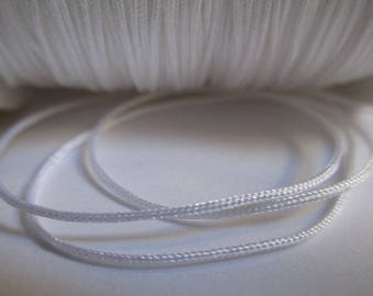 5 m 0.8 mm white nylon string