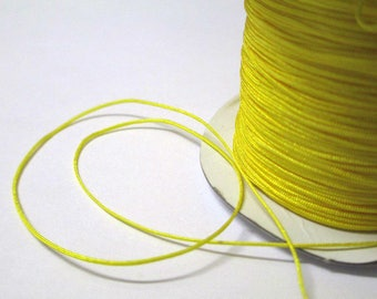 Yellow nylon 0.4 mm the meter string