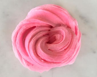 Fairy Floss Slime - Semi Butter Slime - Cotton Candy Scented