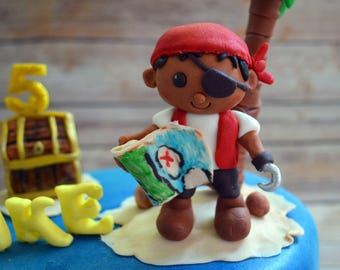 Pirate Cake Topper (100% Edible)