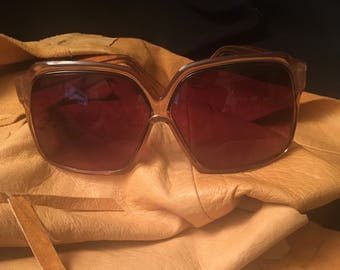 Oversize 70's Gradient Sunglasses