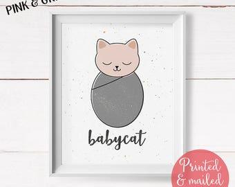 Cat Lover Gift, Cat Print, Nursery Wall Art, Cat Gift, Cat Art, Cat Decor, Cat Illustration, Pet Gift, Cat Wall Art, Cat Art Print