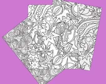 """Pure Filth"" Adult Naughty Coloring Page 3 Pack"