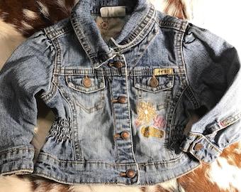 Vintage Levi Strauss cozy comfy 12 month Jean jacket