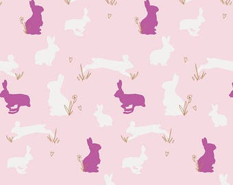 KNIT Bunny Binkies Fluff ~ Anna Elise Collection by Bari J for Art Gallery Fabrics